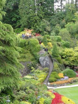 Photo of Victoria Butchart Gardens Tour from Victoria Sunken Garden Spire