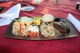Photo of Maui Kaanapali Sunset Luau in Maui The food
