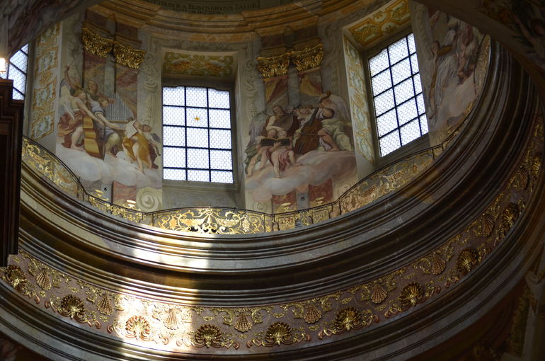 The most ornate Chapel we saw on our whole trip - Vienna