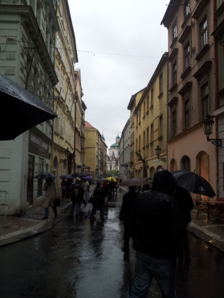 The narrow ways - Prague