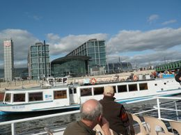 Photo of Berlin Berlin Sightseeing Cruise on the River Spree The Station in Berlin