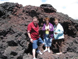 Joe, Gloria and Linda - older than dirt since this volcanic ash was created in 1974!!! , MamaLindaC - September 2012