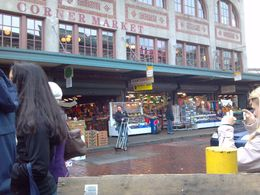 Photo of Seattle Food and Cultural Walking Tour of Pike Place Market Walking around
