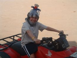 Photo of Sharm el Sheikh Quad Biking in the Egyptian Desert from Sharm el Sheikh Westie