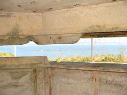 Looking Out Of One Of The Bunkers , Richard P - June 2012