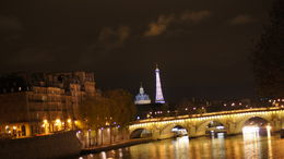 Tour guide made sure to let us see this view of the Eiffel tower Sparkling! , wenll - November 2011