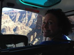 Photo of Las Vegas Best of the West Rim: Grand Canyon Air Tour with Helicopter, Boat Ride and Optional Skywalk Admission Front seat view!