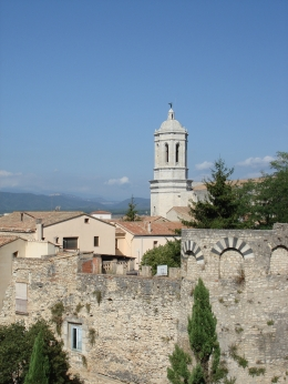 view from wall of church in Girona, Jennifer D - September 2010