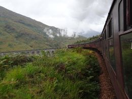 Photo of Edinburgh 3-Day Isle of Skye, Scottish Highlands and the Jacobite Steam Train from Edinburgh Jacobean train from Malaig to Fort Williams.