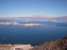 Lake Mead from the Scenic View Zone, Chante W - December 2009