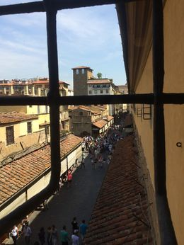 Photo of Florence VIP Experience: Uffizi Gallery and Vasari Corridor Walking Tour Including Terrace Breakfast Ponte Vecchio