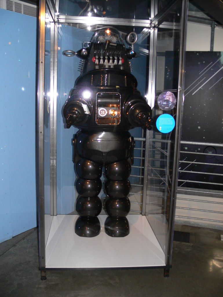 Robbie the Robot from movie Forbidden Planet