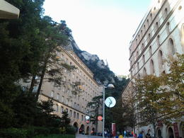 Photo of Barcelona Montserrat Royal Basilica Half-Day Trip from Barcelona Royal Basillica square