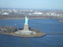 Photo of New York City Manhattan Sky Tour: New York Helicopter Flight Statue of Liberty from the helicopter