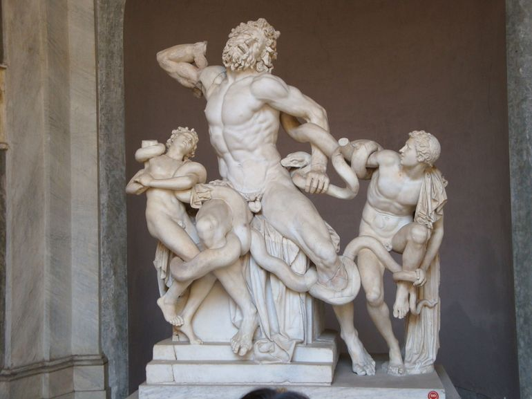 The Laocoon Group - Rome