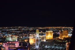 Photo of Las Vegas Las Vegas Strip Night Flight by Helicopter with Transport The LINQ at night.