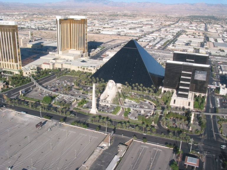 The Luxor Hotel - Las Vegas