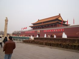 Tiananmen Square: Entrance to the Forbidden City , Carla S - February 2011