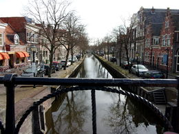The River E, from the Dam, aka the dijk in Edam , Brenda A - April 2015