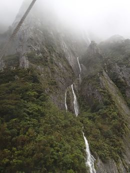 Photo of Fiordland & Milford Sound Milford Sound Mariner Overnight Cruise Waterfall