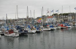 Photo of Edinburgh St Andrews and Fife Small Group Day Trip from Edinburgh 4i1-Anstruther harbor-regata time