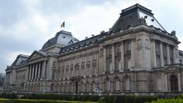 Photo of   Brussels Royal Palace Front Detail