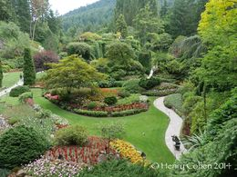 Sunken Garden at Butchart Gardens , Henry C - July 2014