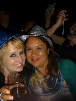 My friend and I on the cruise , Sarah W - January 2013