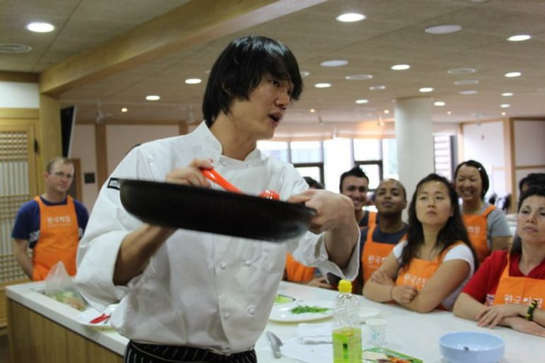 Cooking class - Seoul