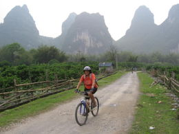Yangshuo biking - May 2012