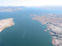 Flying to the Grand Canyon. - June 2010