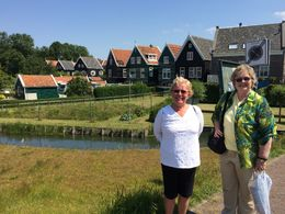 Sherry and Linda in Marken , Deborah P - July 2015