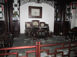 Inside the Master of Nets House in Suzhou., Julie - June 2012