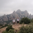 Mountain scenery from top of Montserrat