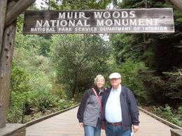 Muir Woods was beautiful. Our tour guide, Aaron Taylor was AWESOME. We learned So Much from Aaron whose wonderful sense of humor was enjoyed by all. We had plenty of time at Muir Woods, as well as ... , Lisa E W - September 2013