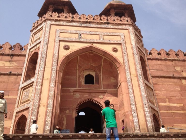 Red Fort in Jaipur - New Delhi