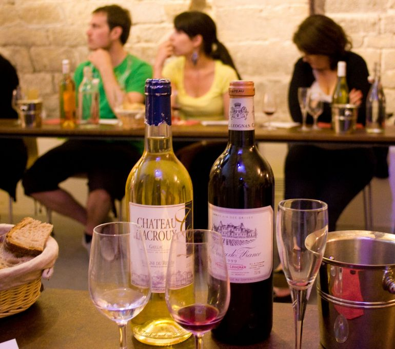 Sampling French Wines in Paris - Paris