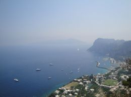 Photo of Naples Capri Day Trip with Lunch from Naples Stairs from Anacapri