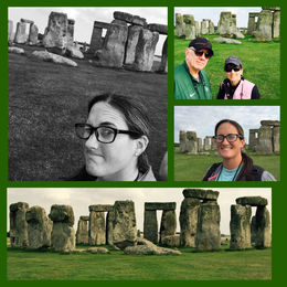 The mystery of time ... what a feeling of awe seeing Stonehenge! , Jo Anne C - September 2015