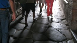 Photo of Rome Pompeii and Amalfi Coast Small Group Day Trip from Rome Street in Pompeii