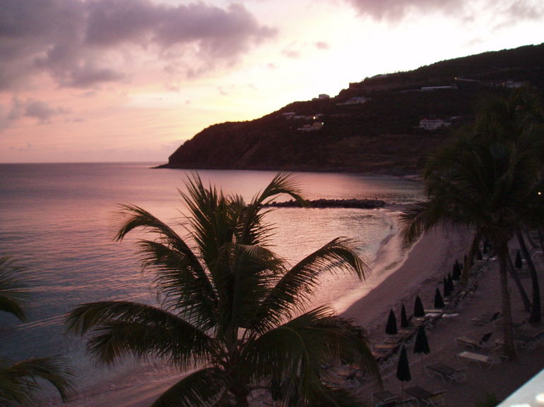 Sunset on Little Bay - Philipsburg