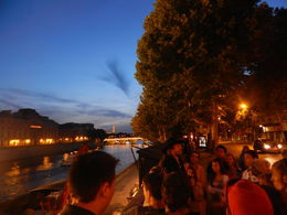 Photo of Paris Paris Ghost and Mystery Walking Tour Sunset side of Pont Neuf