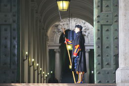 It takes you back in time to see the Swiss Guard which are the official guards of the Vatican, , 2nd one - February 2014