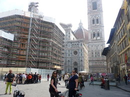 The Duomo by bicycle! , Amber F - May 2014