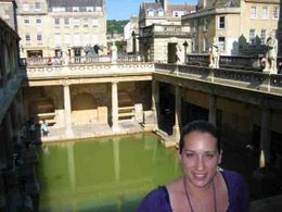 The Great Bath at the Roman Baths -- absolutely brethtaking!!, Cherie B - June 2009
