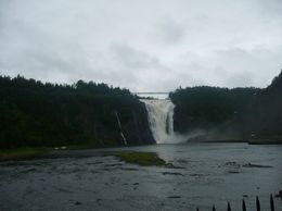 Photo of Montreal Quebec City and Montmorency Falls Day Trip from Montreal Waterfall