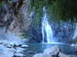 Waterfall trek up the Atlas Mountains, Cat - January 2012