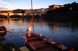 Photo of Florence Florence River Cruise on a Traditional Barchetto Arno River Cruise - Firenze