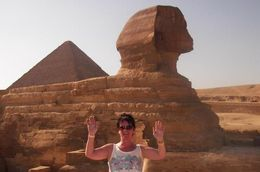 Say Hello to the Sphinx in Cairo - July 2014