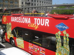This is the bus. You can hop on it wherever it stops with your voucher. , Elmer R - August 2012
